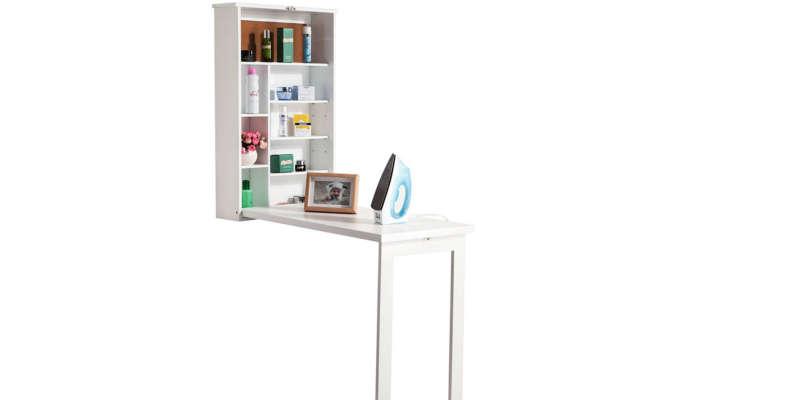 Escritorio plegable de pared con estantes Mesas de escritorio mesa escritorio estudio comprar barata baratas baratos barato precio precios comprar oferta ofertas rebajas