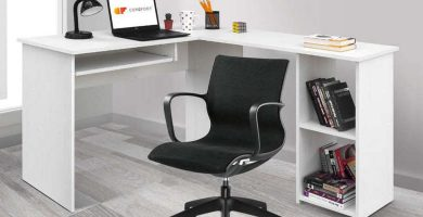 Mesas de escritorio leroy merlin - Mesas estudio cristal ...