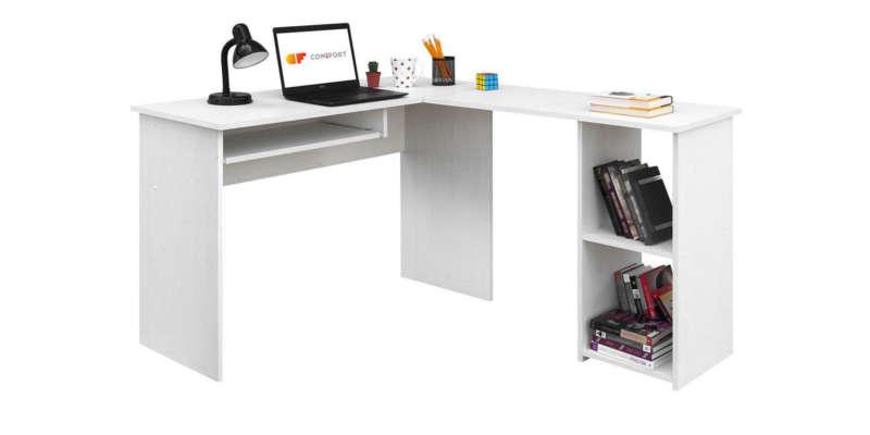 Mesa de estudio escritorio esquinero Comifort Escritorio plegable de pared con estantes Mesas de escritorio mesa escritorio estudio comprar barata baratas baratos barato precio precios comprar oferta fertas rebajas