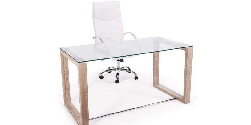 Mesas escritorio de cristal barata barato baratas baratos comprar precio precio cristal cristales vidrio vidrios