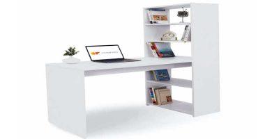 Mesa de estudio con estantería Comifort